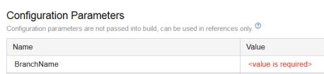BuildParametersBranchName