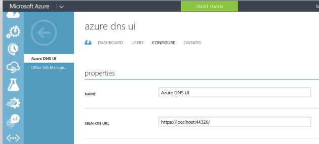 AzureApplicaitonConfiguration