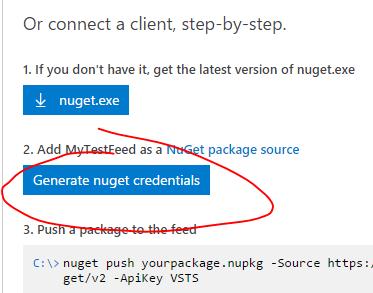 GetNugetCredentials