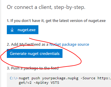 GetNugetCredentials
